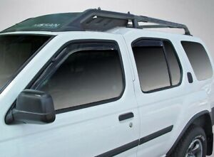 In Channel Wind Deflectors for a 2000 2004 Nissan Xterra