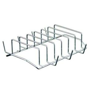 Rib Rack Grill 6 Racks Stell Outdoor Barbeque Indoor Oven Smoker BBQ Camp Chef