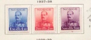 E2 Norway 1937 sc 177 80 MNH