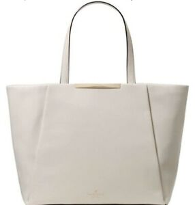 NEW Sale kate spade Camden Way Lenora WKRU3614 Pebble Beige Leather Tote Bag