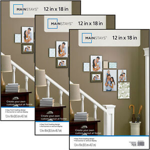 12x18 Format Picture Poster Frame Set of 3 Home Wall Decor NEW