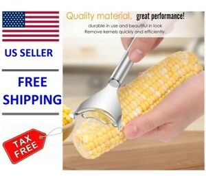 Kitchen Stainless Steel Corn Cob Kernel Peeler Cutter Stripper Removal Tool