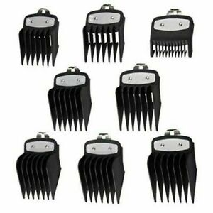 10 Pack Hair Clipper Cutting Guides Combs 1 18''to 1'' Great for Barbers