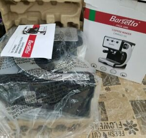 Barsetto Espresso Machine with Milk Frother Wand CM4621 UL