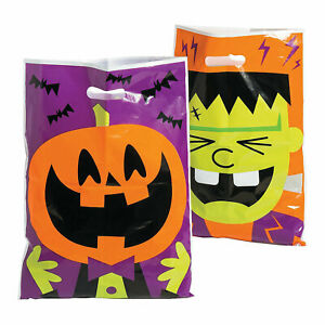 Halloween Character Trick-or-Treat Goody Bags - Party Supplies - 50 Pieces