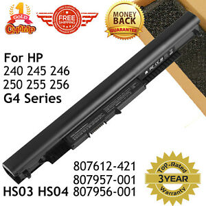 Laptop Battery for HP Spare 807957 001 807956 001 807612 421 HS04 HS03 $14.49