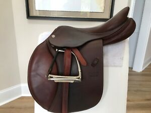 CWD 16.5 inch 2018 SE01 saddle dark brown very good used condition