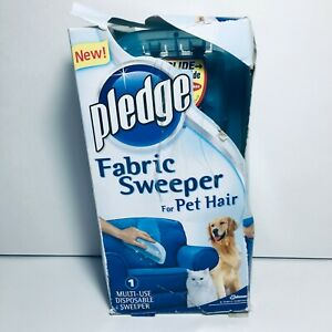 Discontinued Pledge Fabric Sweeper For Pet Hair Open Damaged Box Product Is New