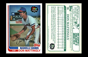 Don Mattingly Rookie 1982 Style ACEO Custom Novelty Art Card Display Only