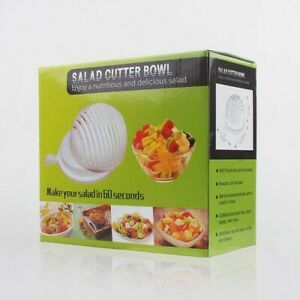 NEW Salad Maker Cutter Bowl Easy Washer Chopper Slicer in 60 Seconds Gift