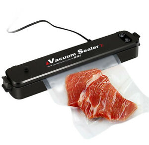 Food Vacuum Sealer Machine Storage Kitchen Meal Sealing Automatic Foodsaver Bags