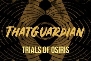 Trials Of Osiris flawless run PS4 PC XBOX READ DESCRIPTION