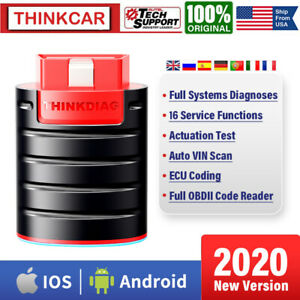 ThinkDiag Car OBD2 Scanner Bluetooth Full Diagnostic 16 Service Functions Coding $89.00