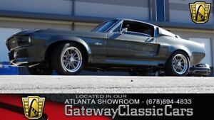 1967 Ford Mustang GT500E Tribute Grey 1967 Ford Mustang Coupe 358 CID V8 6 Speed Manual Available Now!