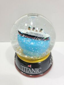 Titanic Museum Snowglobe 3.5quot; New in box