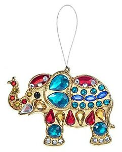 Ganz Crystal Expressions Lucky Elephant Ornament