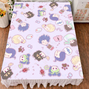 Anime JoJo#x27;s Bizarre Adventure Cosplay Bed sheet Blanket Bedding Gift 150*200cm $25.99
