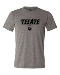 Tecate Cerveza Mexico Beer Drinking lightweight soft gym T shirt top XS 4XL $14.99