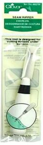 SEAM RIPPER WHITE CLOVER PART #CL482WA SEWING SEWING TOOLS FAST SHIPPING $3.90