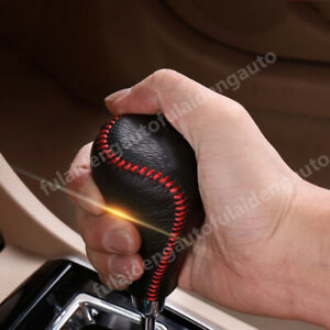 DIY Thread Automatic Leather Gear Shift Knob Cover trim For Toyota Camry 2015 17 $19.99