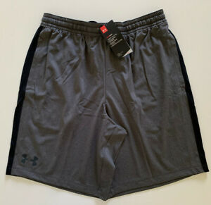 Under Armour Men's MK 1 Performance Shorts Charcoal 1306434 Heather Gray L XL $24.00