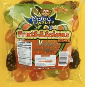 TIK-TOK CANDY SPECIAL EDITIONMama Lycha Fruti-Licious Fruit Jelly 1 Bag (25 CT)