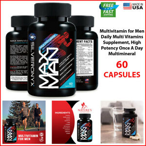 Best Multivitamin Supplement Men High Potency Vitamins Minerals Top Daily Multi