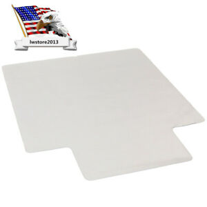 NEW PVC Matte Home-use Protective Mat for Floor Chair Transparent 90x120x0.15CM