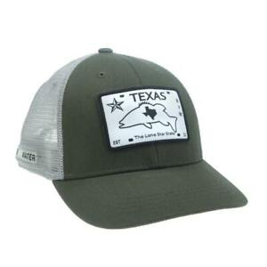 Rep Your Water Texas License Plate Hat in Green