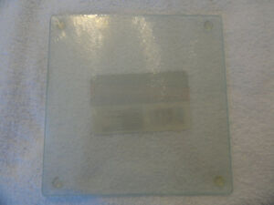 Cooking Concept Kitchen Square Cutting Trivet Board Tempered Glass 7.75 x 7.75quot; $6.49