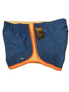 Womens Nike Dry Tempo Running Shorts Plus Size 3x 847761 403 Signal Blue $28.90