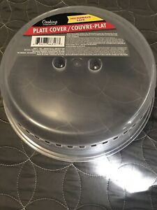 microwave plate cover  steam release