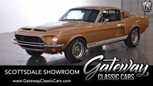 1968 Ford Shelby GT 500  unlit Gold 1968 Ford Shelby GT 500 Coupe Numbers Matching 428 CID V8 4 Speed M