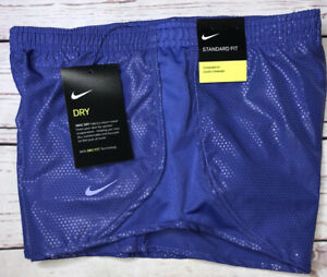 Nike Girls Small Tempo Printed Athletic Running Dri fit Shorts $17.00