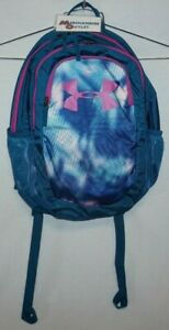 Under Armour Teal Vibe Optic Purple Scrimmage Backpack $25.00