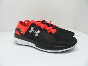 Under Armour Mens Speedform Apollo 2 RF Running Shoes Black Red Size 9.5M $67.49