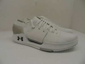 Under Armour Mens Speedform AMP 2.0 Running Shoes White Size 10.5M $74.99