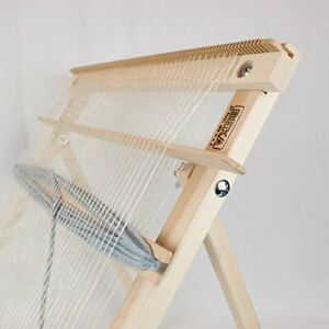 Knitting Weaving Frame Loom with Stand Hand Lap Tapestry Looms for Kids Adults