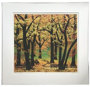 Custom Framed Signed And Numbered Lithograph Titled Golden Anniversary $110.00