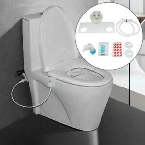 Self-Cleaning Non-Electric Kit Home Bathroom Bidet Toilet Seat Fresh Water Spray