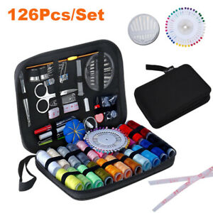 NEW 126Pcs Portable Sewing Kit Home Travel Emergency Professional Sewing Set USA $14.19