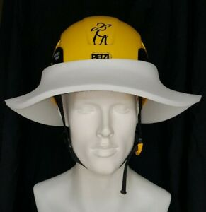 The Original Sunbrero® Construction Hard Hat Sun Visor WHITE