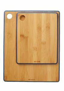 Art & Cook 2-Piece Bamboo Cutting and Serving Boards
