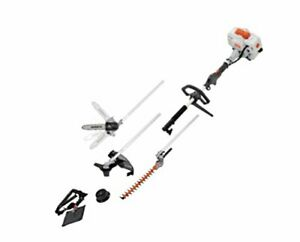 26cc 2 Cycle 4 in 1 Straight Shaft Grass Trimmer Brush Cutter with Pole Saw