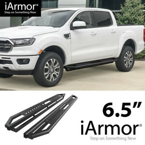 iArmor 6.5quot; Side Steps Side Armor Square for 19 20 Ford Ranger SuperCrew Cab $259.00