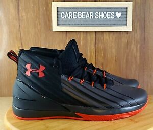 New Under Armour Lockdown 3 Basketball Shoes Black 3020622 002 Men's 11 $59.99
