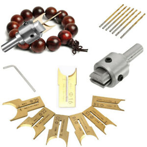 16Pcs/Set Wooden Bead Maker Beads Drill Bit Mill Cutter Tool # FAST SHIPPING