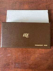 Unused Vintage ABERCROMBIE & FITCH Passport POCKET Size Fly Rod in Case