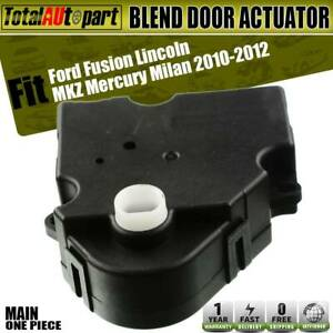 Blend Door Air Inlet Actuator w 2 Pins for Ford Fusion Lincoln MKZ Mercury Milan $18.69