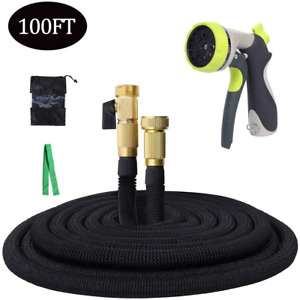 Expandable Garden Hose, 100ft Flexible Water Hose with 3/4